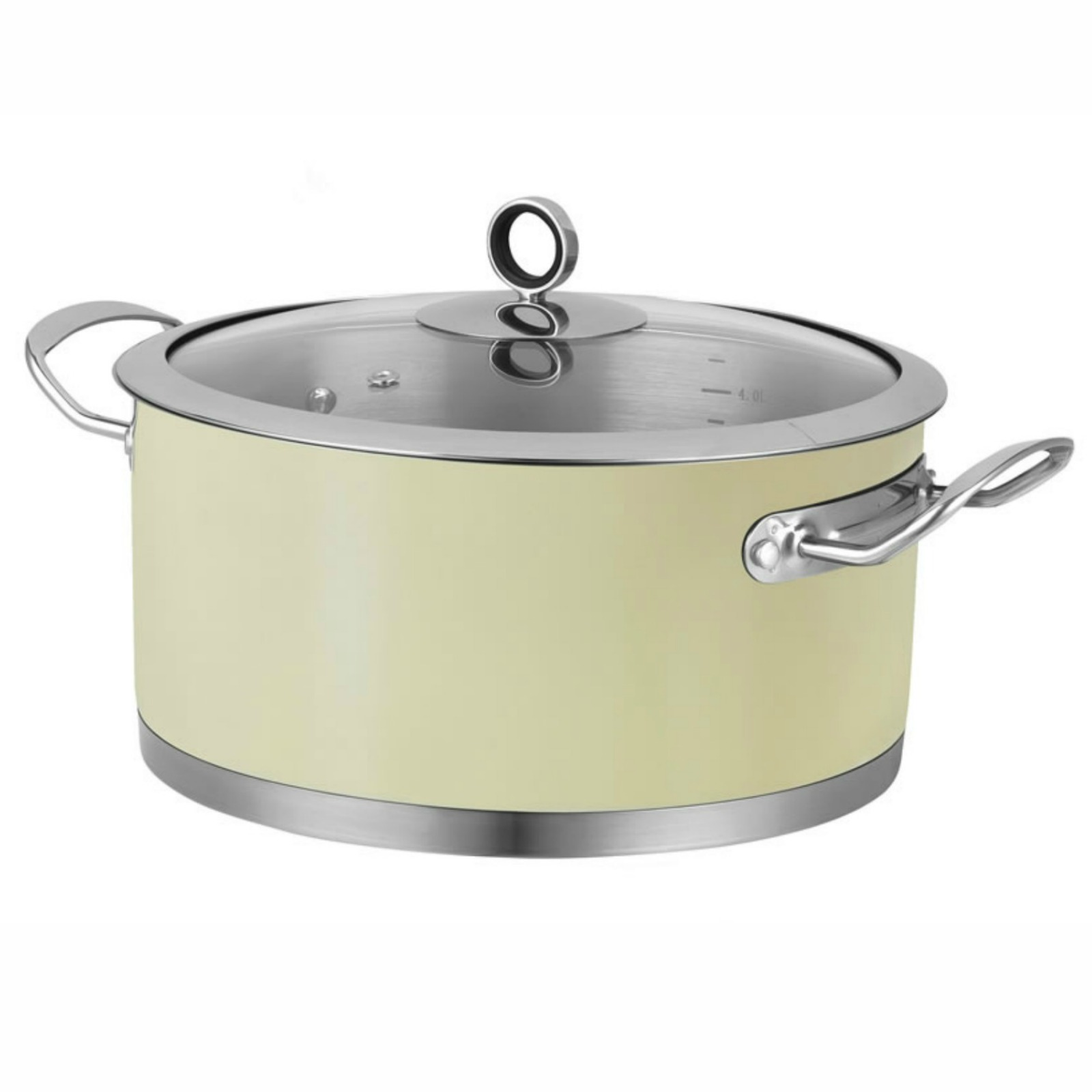 Morphy Richards 46372 Accents Casserole Pot with Lid 24 cm Cream eBay
