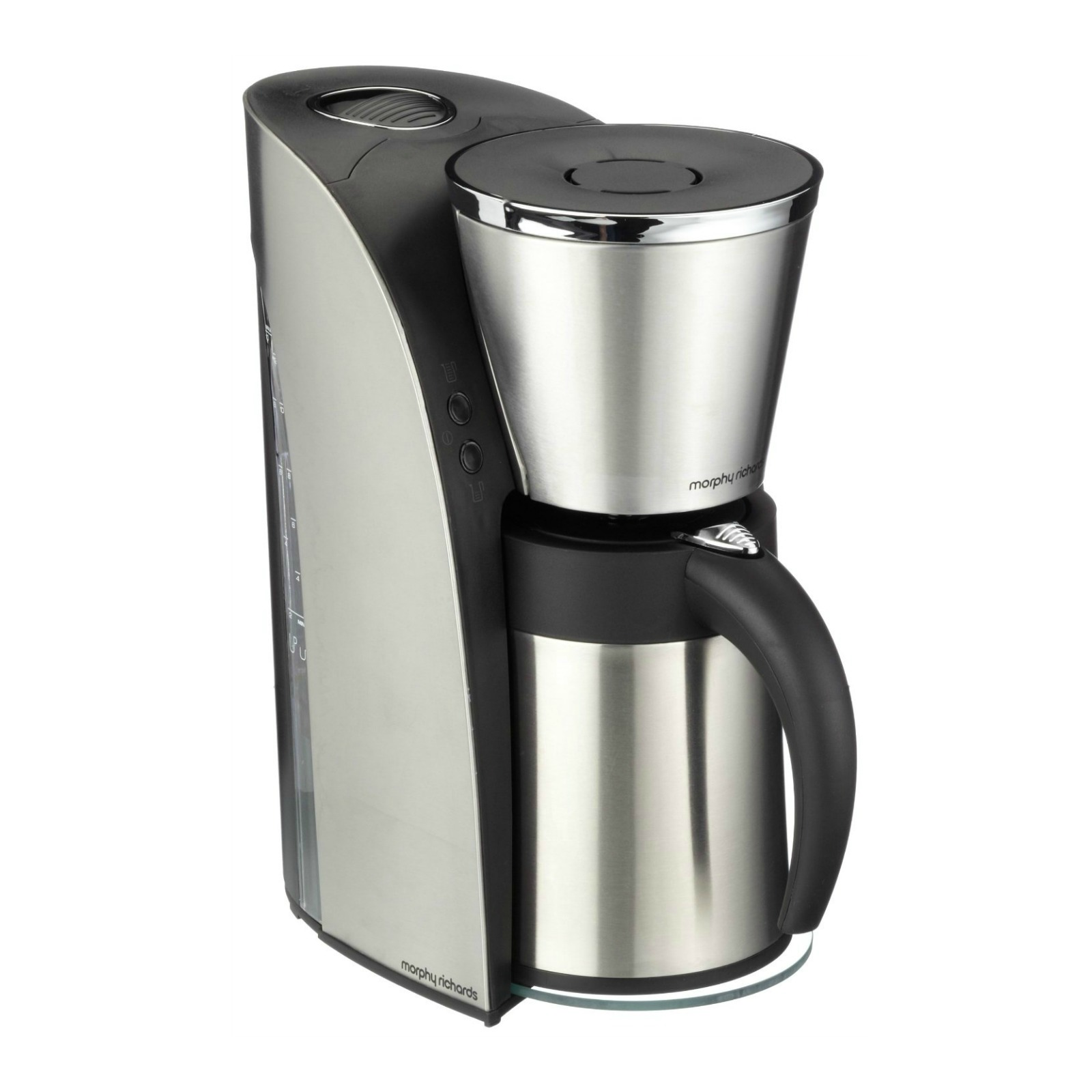 Morphy Richards Coffee Maker Cleaning : Morphy Richards 47110 ARC Filter Coffee Maker 10 Cup Silver/Black eBay