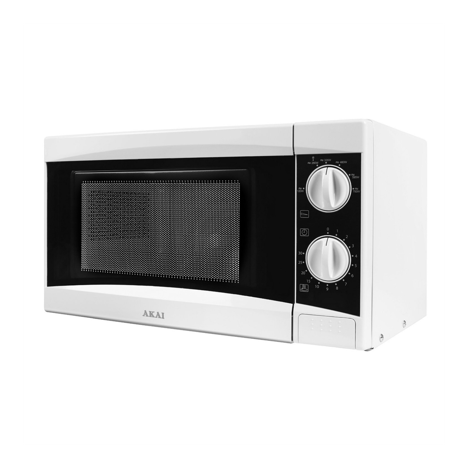 Countertop Microwave Uk : ... about Akai A24001 Manual Countertop Microwave 800 Watt 20 Litre White